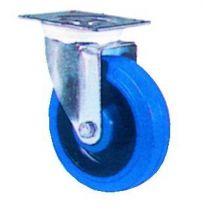 Roulette de manutention roue bleue - Mécanic