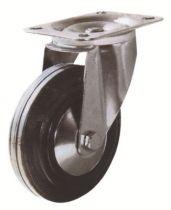 Roulette de manutention roue noire - Manu Roll