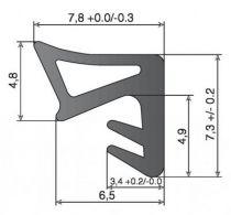S9710F - largeur de rainure 3 mm - profondeur de rainure 5 mm