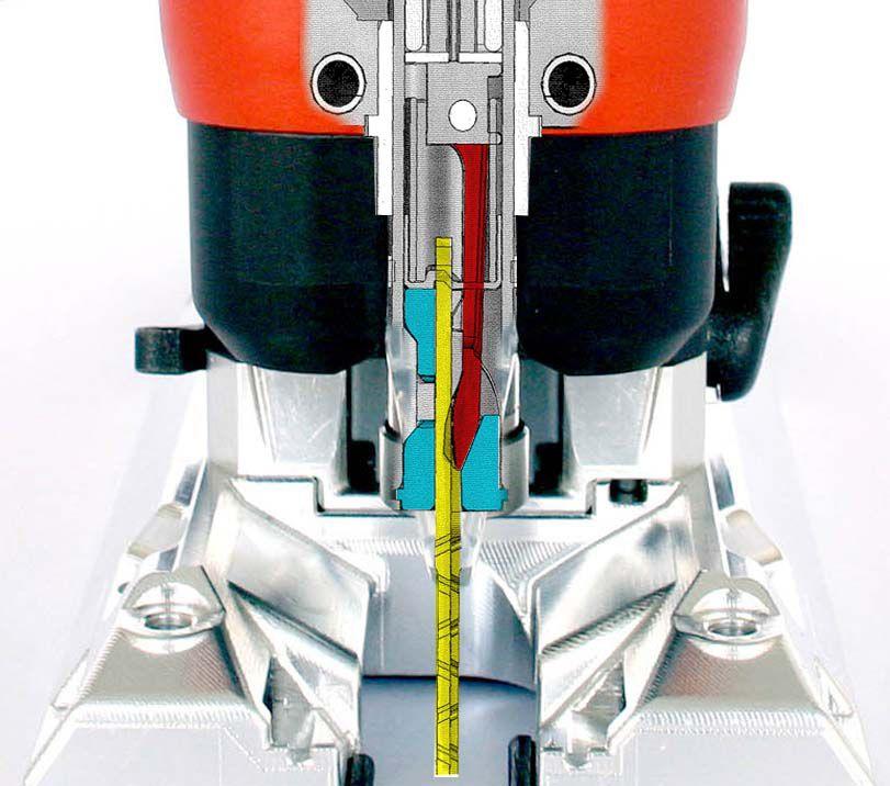 Scies sauteuses poignée champignon P1CC - 900 Watts
