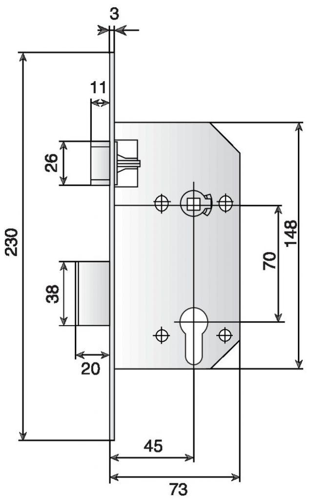 Série D 40 Vachette NF P26 - 414