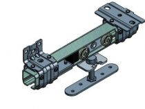 Série Suprême Terzo - Equipement pour porte de 200 kg - rail 37 x 41 mm