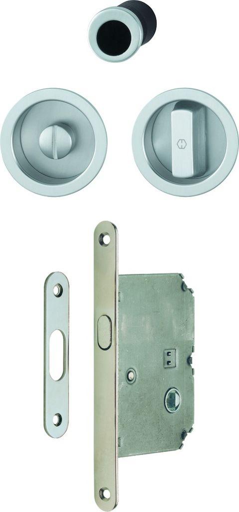 Set porte coulissante aluminium - à condamnation - modèle 4920