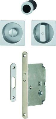 Set porte coulissante aluminium - à condamnation - modèle 4921