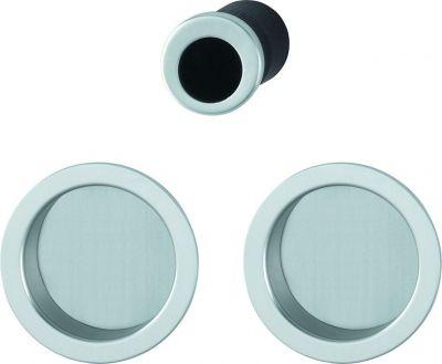 set de porte coulissante pour porte int rieure aluminium aveugle mod le 4920. Black Bedroom Furniture Sets. Home Design Ideas