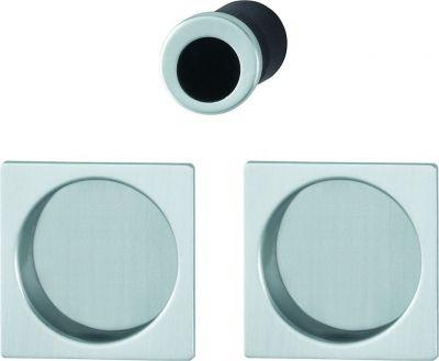 set de porte coulissante aluminium pour porte int rieure aveugle mod le 4921. Black Bedroom Furniture Sets. Home Design Ideas