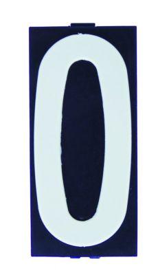 Signalétique plaquette pour support de numérotation des immeubles, villas, etc