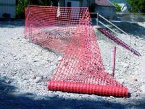 Signalisation barrière de chantier