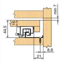 Sortie totale MOVENTO 760 BU - BLUMOTION intégré