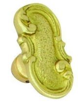 Style Louis XV bouton simple
