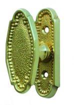 Style Louis XVI perlé bouton de fenêtre 65 x 26 mm