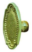 Style Louis XVI perlé bouton simple
