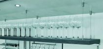 Support baldaquin système de suspension à câble métallique