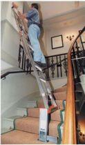 Support échelle pour escalier