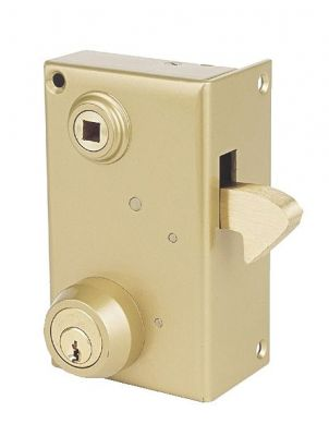 Sûreté à cylindre rond JPM Véga verticale à fouillot et à mentonnet - Carré de 7 mm