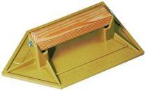 Taloche plateau en ABS choc jaune