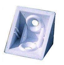 Taquet d\'assemblage plastique en applique - couvercle livré séparément