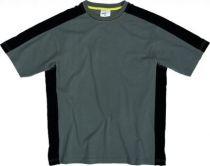 Tee-shirt bicolore gris/noir Mach 5