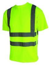 Tee-shirt fluo classe II haute visibilité