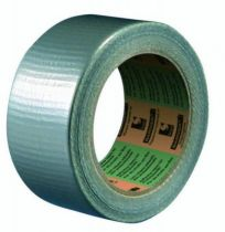 Tissu couché PE 25/100 mm - gris alu - 3162
