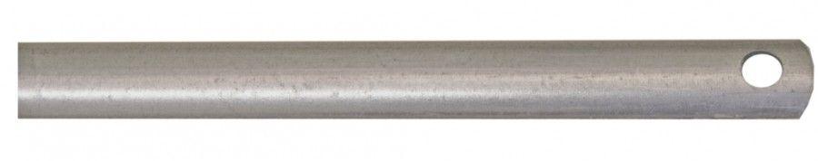 Tringle fer 1/2 rond - 16 x 6 mm