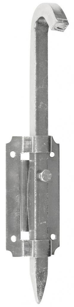 Verrou de barrière pêne carré de 12 mm