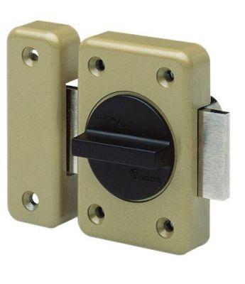 Verrou de sûreté Vachette à bouton tournant