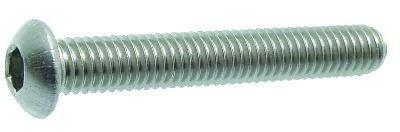 Vis tête bombée zinguée - ISO 7380 - classe de résistance 10-9